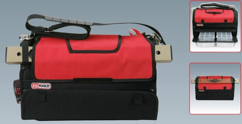 ks tools werkzeugtasche smartbag kleinteilemagazin legner autozubeh r. Black Bedroom Furniture Sets. Home Design Ideas