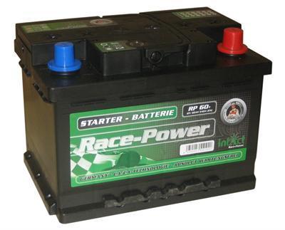 intact racepower batterie 60ah calcium calcium 54519. Black Bedroom Furniture Sets. Home Design Ideas