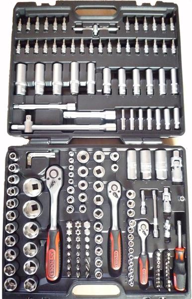 ks tools steckschl sselsatz 1 2 3 8 1 4 179teile legner autozubeh r. Black Bedroom Furniture Sets. Home Design Ideas