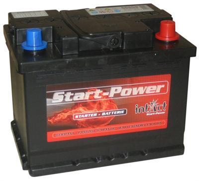 intact startpower autobatterie 12v 55ah din 55559 batterie. Black Bedroom Furniture Sets. Home Design Ideas