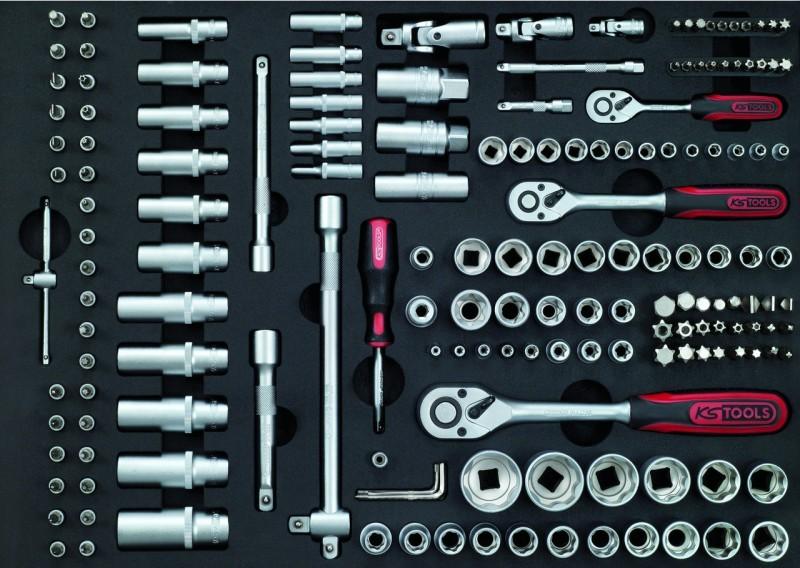 ks tools steckschl ssel satz 171 tlg einlage legner. Black Bedroom Furniture Sets. Home Design Ideas