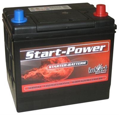 intact startpower autobatterie 60ah din 56068 60 ah. Black Bedroom Furniture Sets. Home Design Ideas
