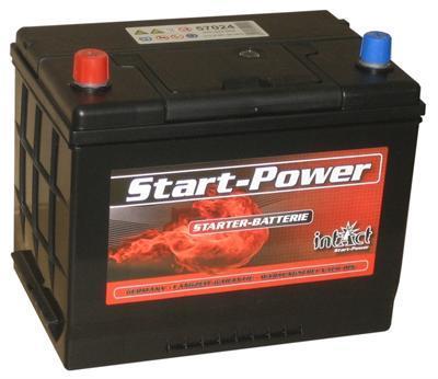 intact startpower autobatterie 12v 70 ah din 57024. Black Bedroom Furniture Sets. Home Design Ideas